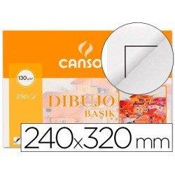 Papel dibujo Canson din a4 gramaje 130 g/m2