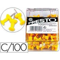 Señalizadores de planos amarillo Presto