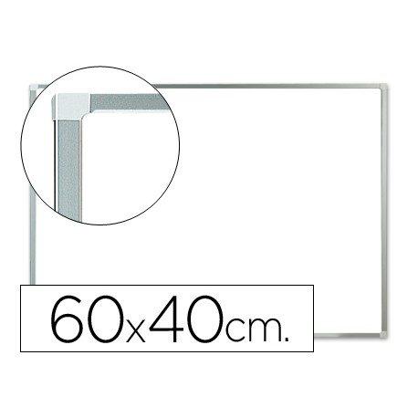 Pizarra Blanca de Melamina con marco de aluminio 60x40 Q-Connect
