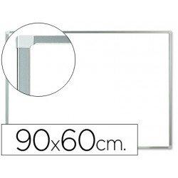 Pizarra Blanca de Melamina con marco de aluminio 90x60 Q-Connect