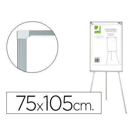 Pizarra Blanca Lacada Magnética Tripode 75x105 cm Q-Connect