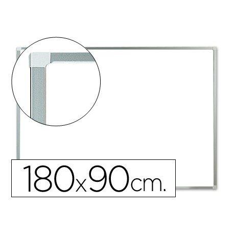Pizarra Blanca de Melamina con marco de aluminio 180x90 Q-Connect