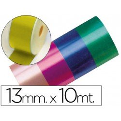 Cinta fantasia color oro 13 mm