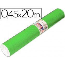Aironfix Rollo Adhesivo 45cm x 20mt Unicolor Verde Medio 100 MC