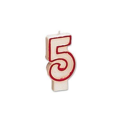 Velas cumpleaños numero 5