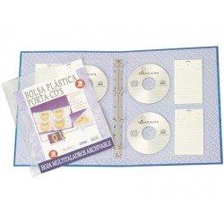Funda para CD/DVD con etiqueta marca Beautone