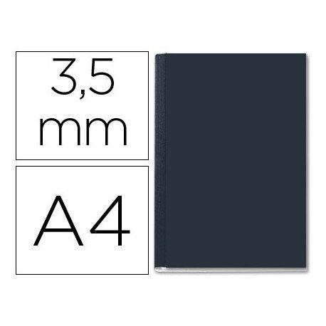 Tapa de Encuadernación Cartón Leitz DIN A4 Negra 36/70 hojas