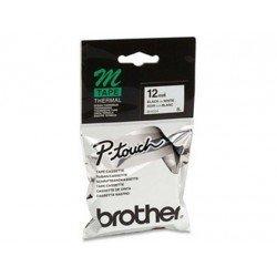 Cintas Brother MK-231 12mm (ancho) x 8m (largo) negro/blanco