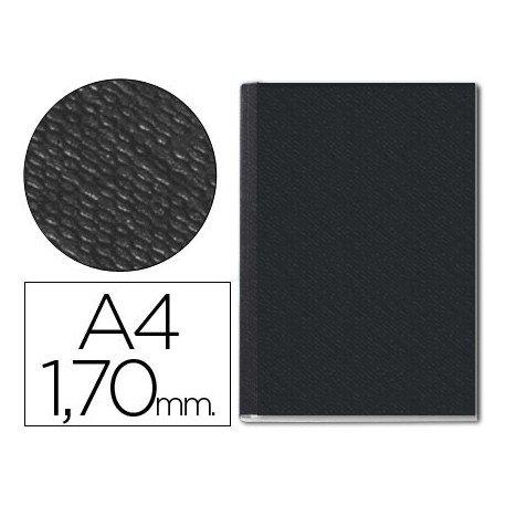 Tapa de Encuadernación Cartón Leitz DIN A4 Negra 210 hojas
