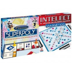 Superpoly + Intelect magnetico Falomir Juegos