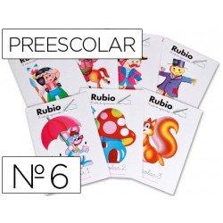 Cuaderno Rubio preescolar Nº6