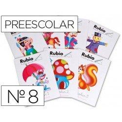 Cuaderno Rubio preescolar Nº8
