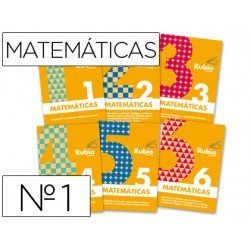Cuaderno rubio matematicas evolucion nº 1