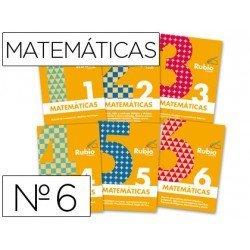 Cuaderno rubio matematicas evolucion nº 6