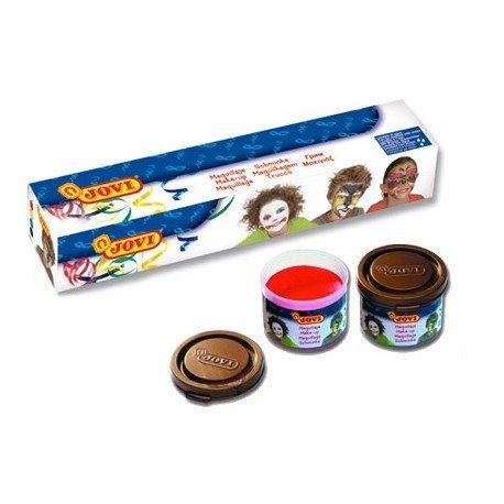 Crema maquillaje marca Jovi caja de 5 colores surtidos
