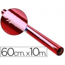 Papel celofan marca Liderpapel 60cmx10m rojo