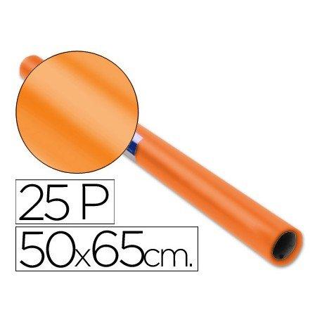 Papel charol Sadipal Color Naranja