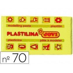 Plastilina Jovi color amarillo claro pequeña
