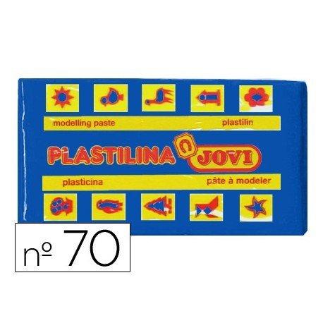 Plastilina Jovi color azul oscuro pequeña