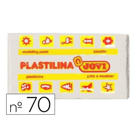 Plastilina Jovi color blanco pequeña