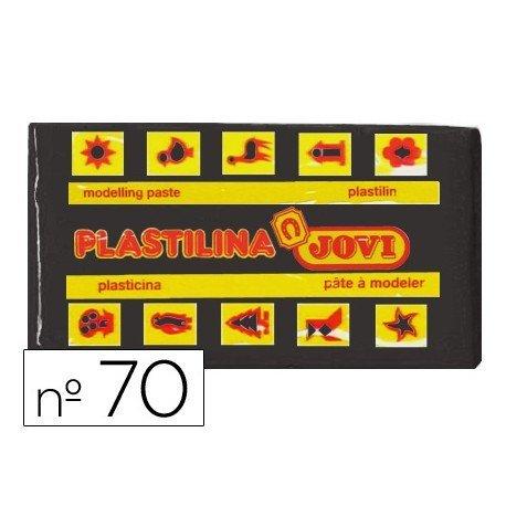 Plastilina Jovi color negro pequeña