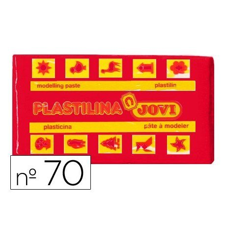 Plastilina Jovi color rojo pequeña
