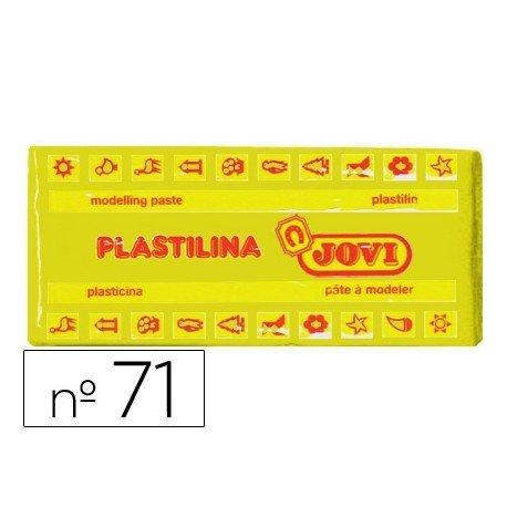Plastilina Jovi color Amarillo oscuro mediano