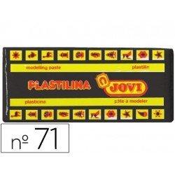 Plastilina Jovi color Negro mediano