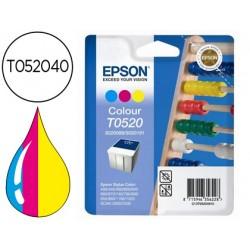 Cartucho Epson T052040 modelo tricolor