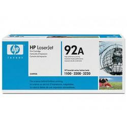 Toner HP 92A C4092A color Negro