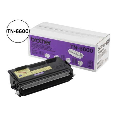 Toner Brother TN-6600 color Negro