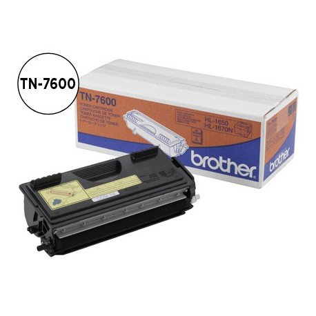 Toner Brother TN-7600 color Negro