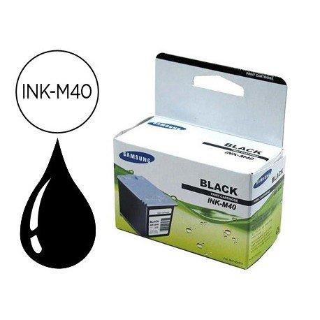 Cartucho Samsung INK-M40 Negro
