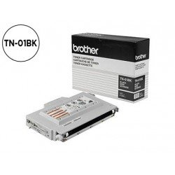 Toner Brother TN-01BK color Negro