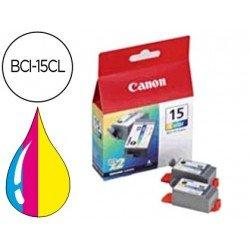 Cartucho Canon 8191A002 Nº BCI‑15CL(2) Tricolor