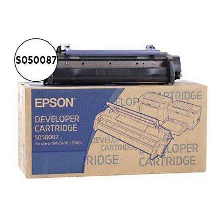Toner Epson EPL 6100, EPL 6100L, EPL 5900, EPL 5900L, Negro, Ref. S050087 - EPL6200X