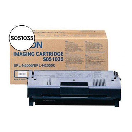 Fotoconductor + Toner Epson S051035  Negro
