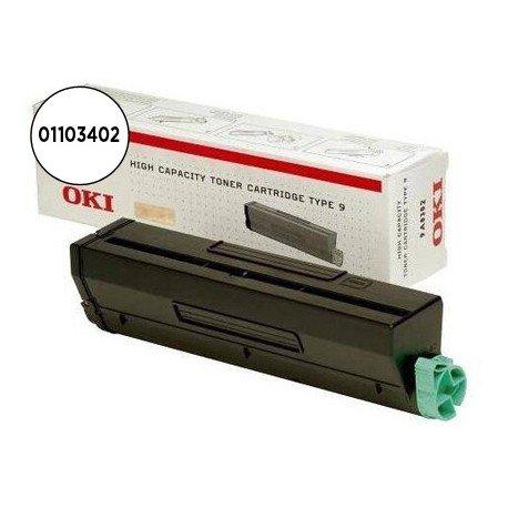 Tóner Oki (01103402) Negro B4100 B4200