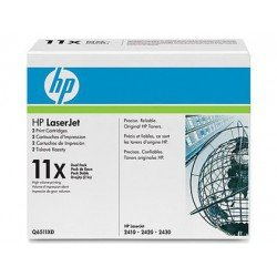 Toner HP 11X color Negro Q6511XD