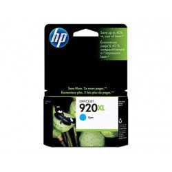Cartucho HP 920XL color Cian CD972AE