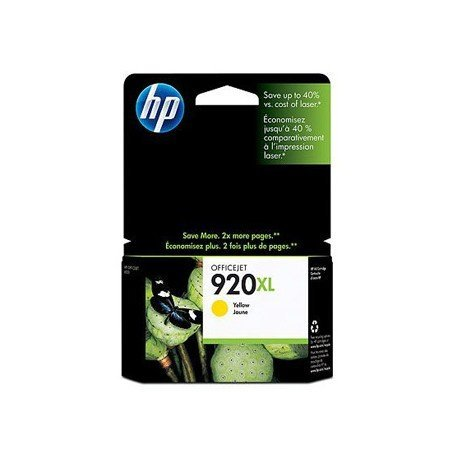 Cartucho HP 920XL color Amarillo CD974AE