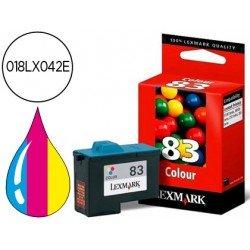 Cartucho Lexmark 018LX042E Nº 83 Tricolor