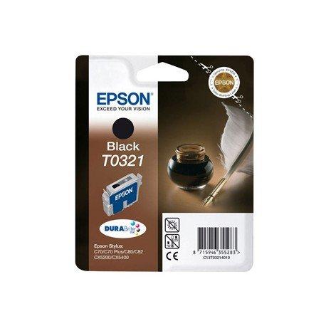 Cartucho Epson T032140 Negro