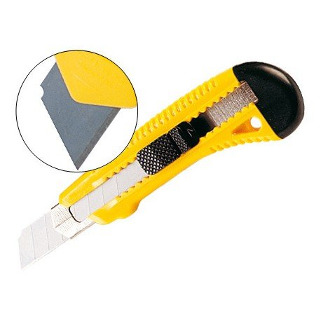 Cuter plastico Q-Connect KF10634 Con protector metalico