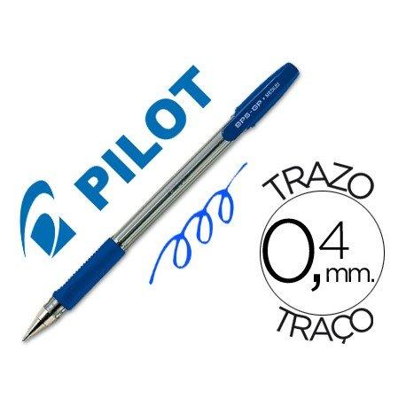 Boligrafo Pilot BPS-GP Azul 0,4 mm