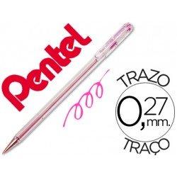 Boligrafo Pentel BK-77 rosa 0,27 mm