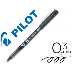 Rotulador Pilot V-5 Trazo 0,3 mm Negro