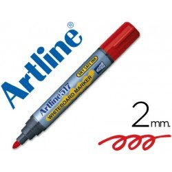 Rotulador Artline EK-517 color rojo
