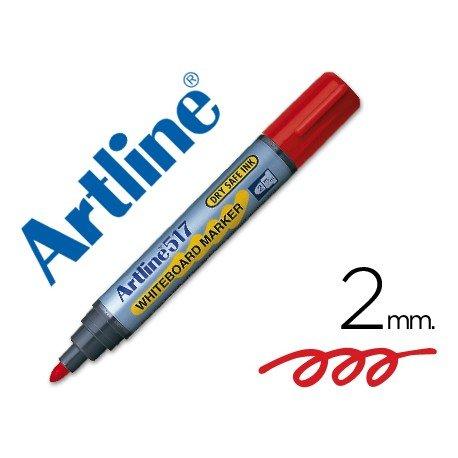 Rotulador Artline EK-517 color rojo