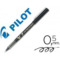 Rotulador Pilot V-7 Trazo 0,5 mm Negro